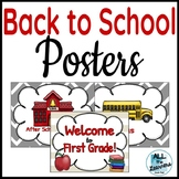 Back to School Posters