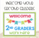 Back to School Bulletin Board Posters and Bookmarks for 2nd Grade