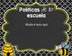 Back to School PowerPoint - Bee {SPANISH}