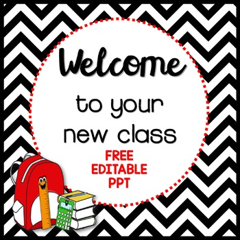 back to school powerpoint freebie {editable template}lindy du, Powerpoint templates