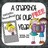 BACK TO SCHOOL Editable PowerPoint Presentation Freebie |UPDATED)