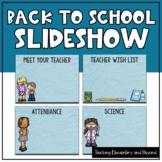 Back to School Powerpoint Slideshow {Editable}