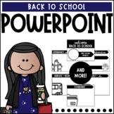 Back to School Powerpoint   Editable