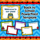Meet the Teacher Powerpoint Presentation (Editable)