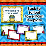 Meet the Teacher Template  (Editable)