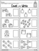 Back to School! Practice Sheets for Kindergarten ELA and Math