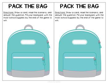 Back to School Pragmatics Pack
