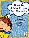 Back to School Prayer for Students