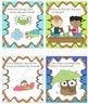 Task Cards Pre-K Kindergarten! 100 Brainy Questions!