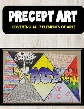 Back to School Precept Art