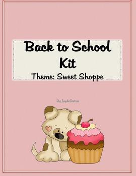 Back to School Preparation Kit Sweet Shoppe Theme