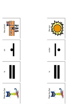 Pete the Cat Prepositions (Back to School)