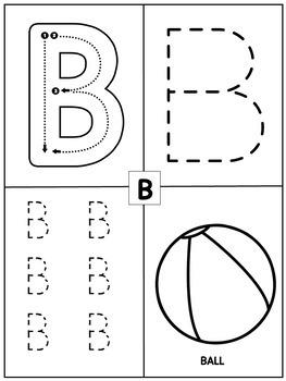 Preschool Math and Literacy Worksheets