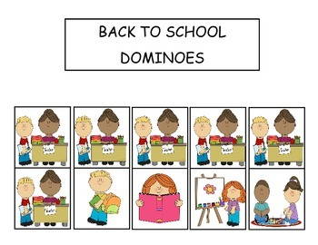 Back to School Preschool Games