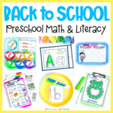 Back to School Preschool Centers | Pre-K Activities, Worksheets, Morning Tubs