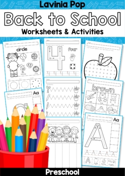 Back to School Preschool Worksheets | Worksheets, Zoos and Farming