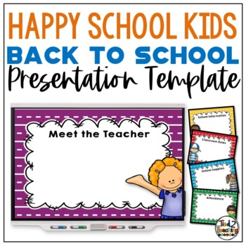 Back to School Presentation Template (Powerpoint)