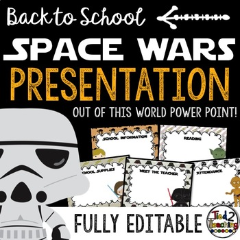 Back to School Presentation Template (Powerpoint) STAR WARS