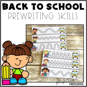 Back to School Prewriting Skills