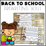 Back to School Prewriting Skills