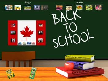 Back to School Prezi- Canada