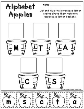 Back to School Print-That's It! Kindergarten Math and Literacy Printables