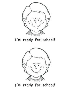 Back to School Printable Book - Emergent Reader - Oops!