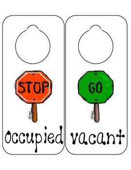 image regarding Printable Door Hangers called Back again toward University - Printable Doorway Hangers/Corridor Pes