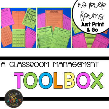 Back to School:  Printable Forms and Documents for Teachers