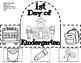 Back to School Printable Literacy and Math Centers for Kindergarten