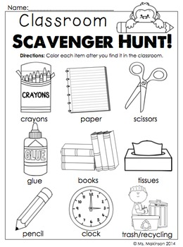 September Printables - Kindergarten Literacy and Math