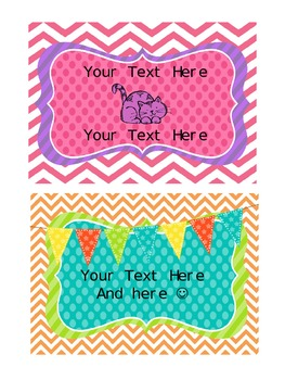 Personalized Postcards Stationary