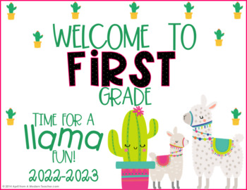 back to school welcome signs free download by a modern teacher tpt