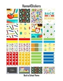 Back to School Printable planner stickers