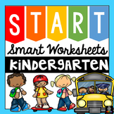 Back to School Worksheets Kindergarten