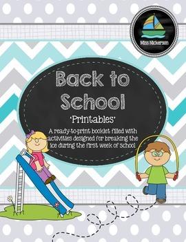 'Back-to-School Printable'