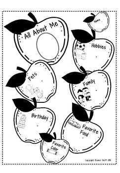 Back to School Printables Packet