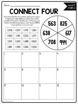 Back to School Printables: The Four Basic Operations