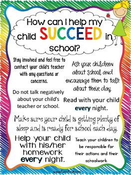 Back to School Printables for Parents