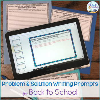Back to School Problem-Solving Writing Prompts