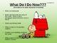 Back to School Procedures-Charlie Brown