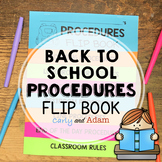 Back to School Procedures Flip Book