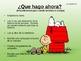 Back to School Procedures (Spanish) Charlie Brown