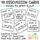 Back to School Procedures: What If? Discussion Cards for Class Rules & Routines