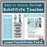 FREE Back to School Procedures for Substitute Teacher