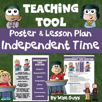 Back to School Procedures for Independent Work Time