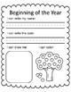 Back to School Progress Monitoring Book