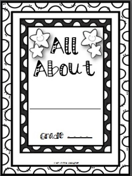 Back to School Project ~ All About Me!