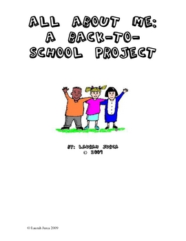 Back to School Project: All about ME
