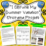 """Back to School Project- """"I Shrunk My Summer Vacation"""" Triorama"""